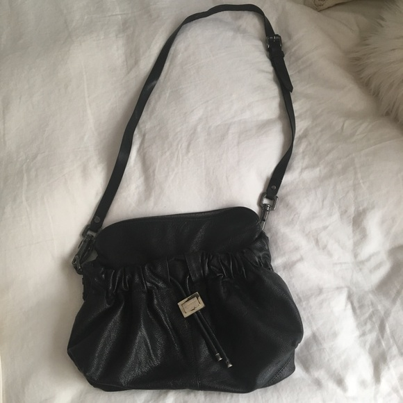 d4e115b78 Burberry Bags   Black Leather Hobo Bag   Poshmark